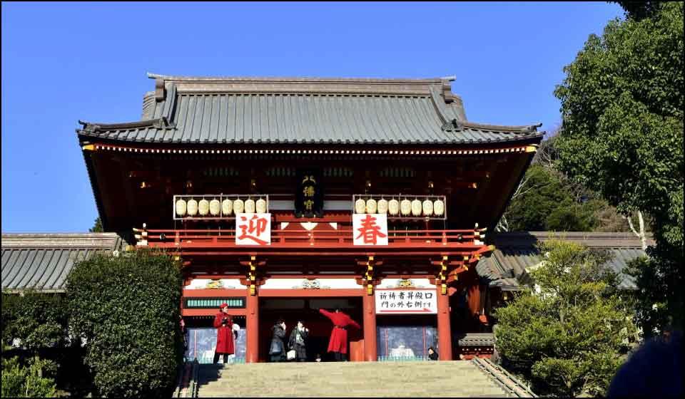 鎌倉ー鶴岡八幡宮