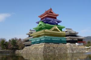 層塔型ー松本城