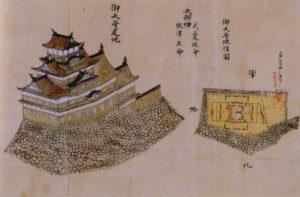 岡山城古絵図