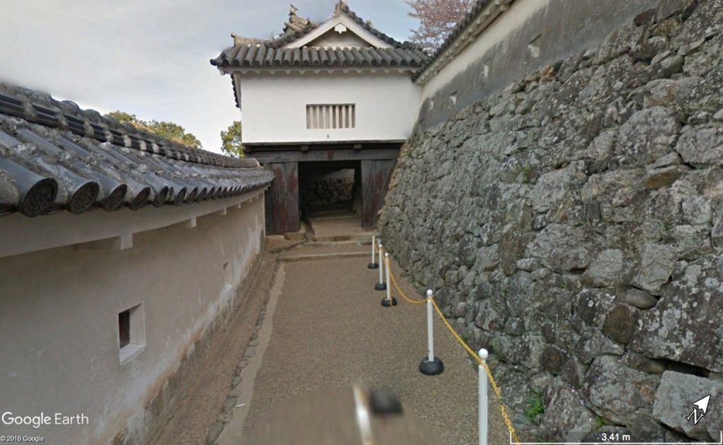 姫路城天守へのルート2