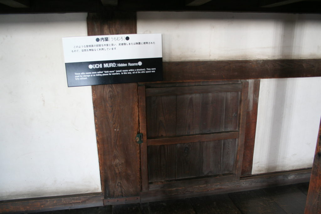 姫路城天守の内室