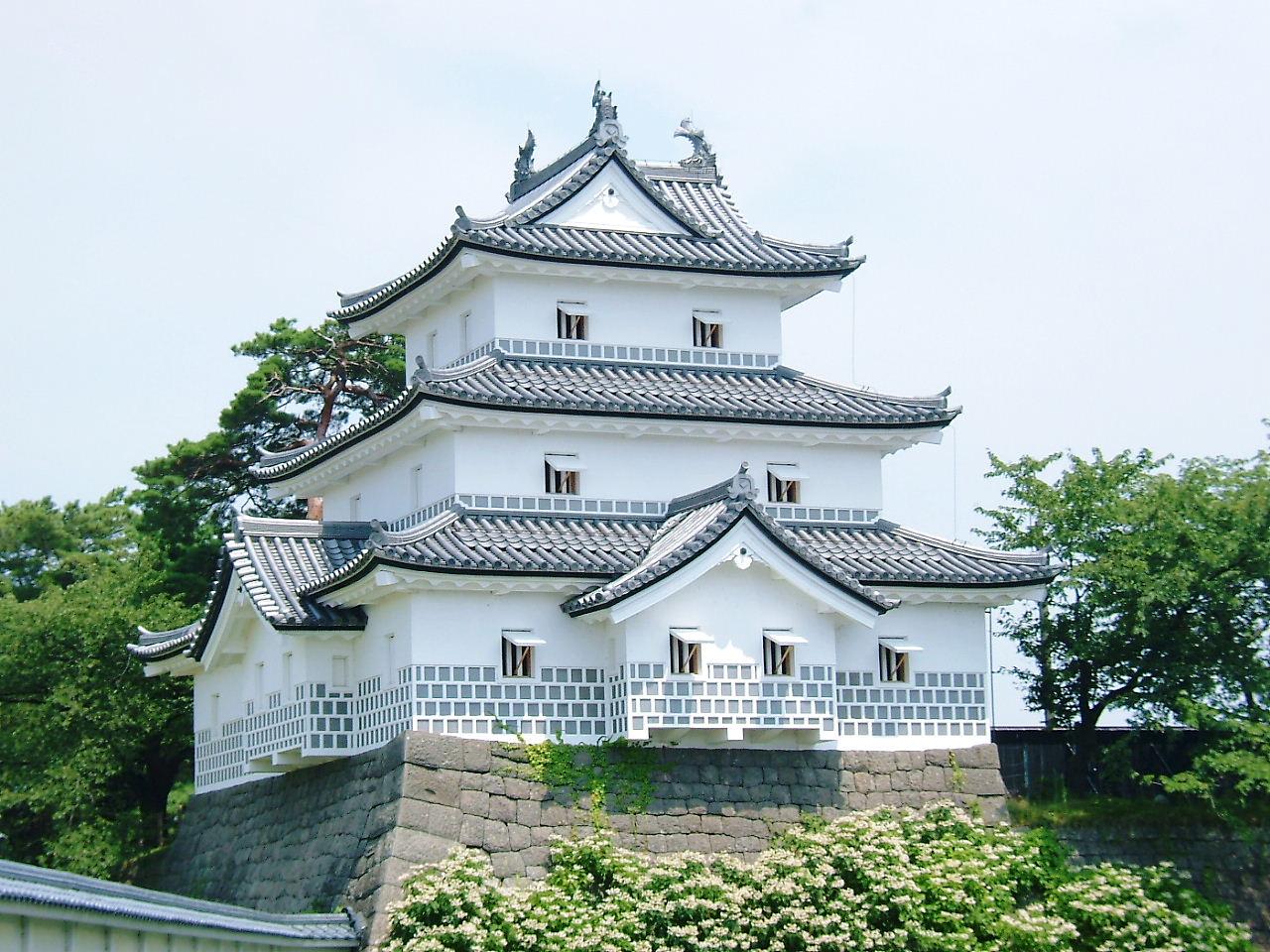 新発田城御三階櫓