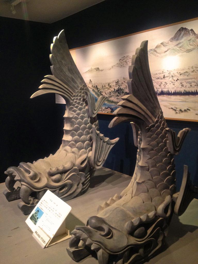 熊本城のシャチホコ