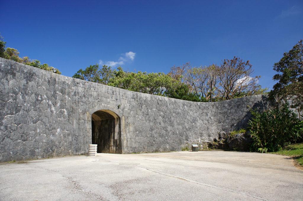 首里城の木曳門