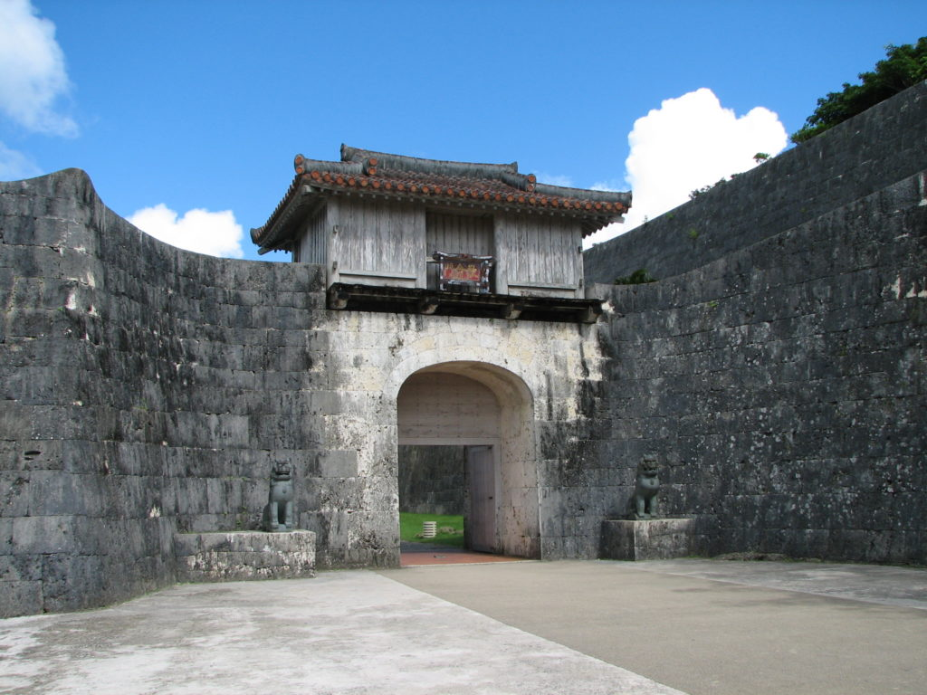 首里城の歓会門