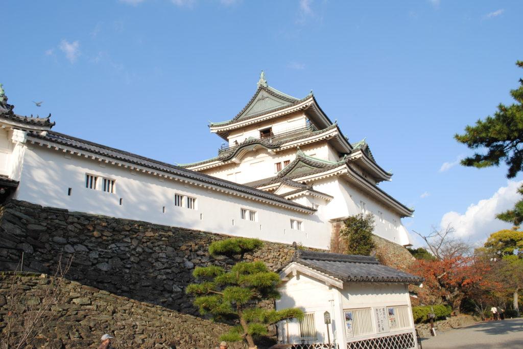和歌山城の天守曲輪