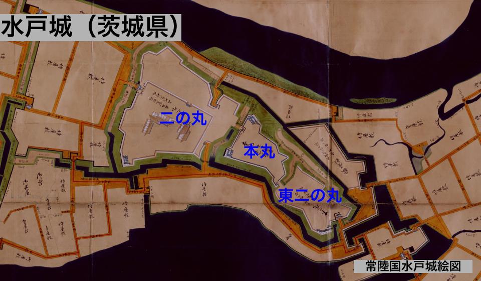 水戸城の縄張