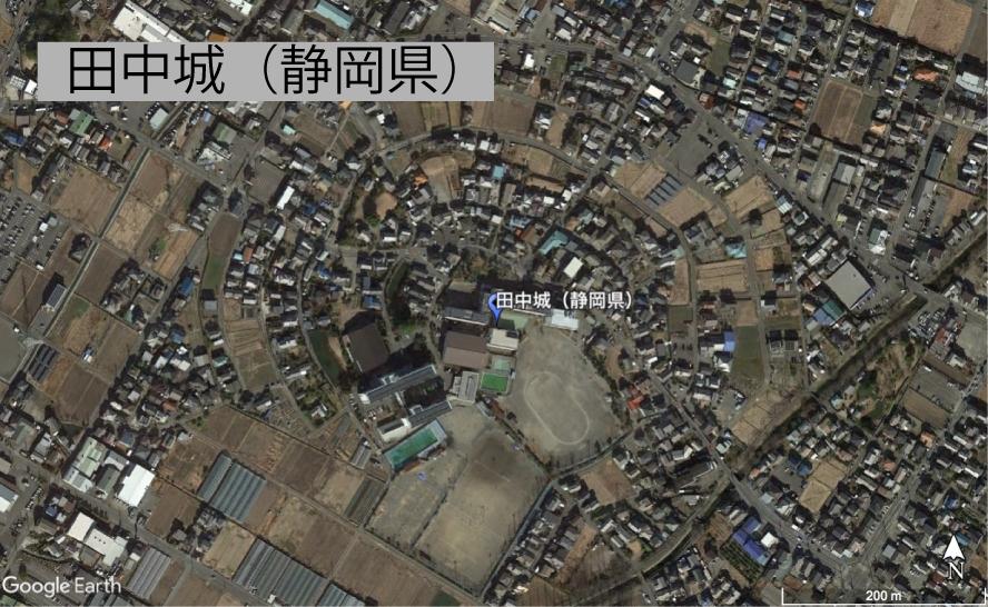 田中城の縄張