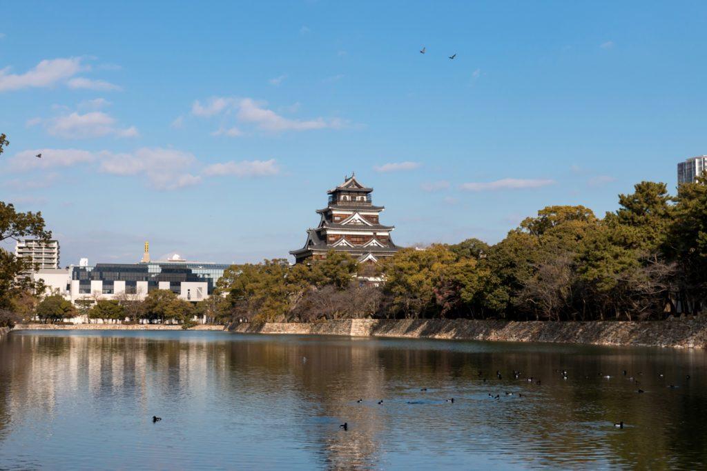 広島城の堀