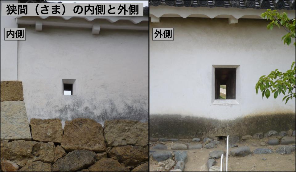 狭間の内側と外側