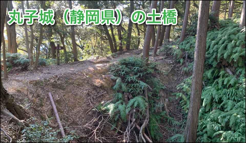 丸子城の土橋