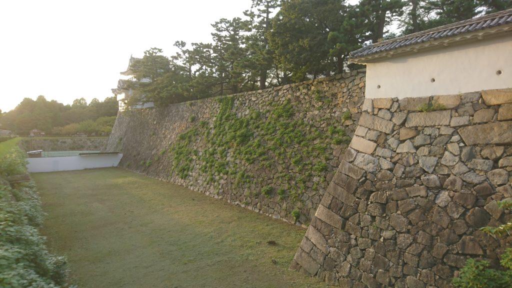 名古屋城の空堀