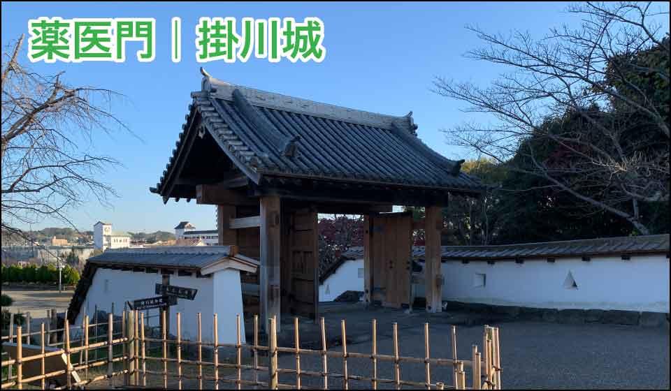薬医門|掛川城