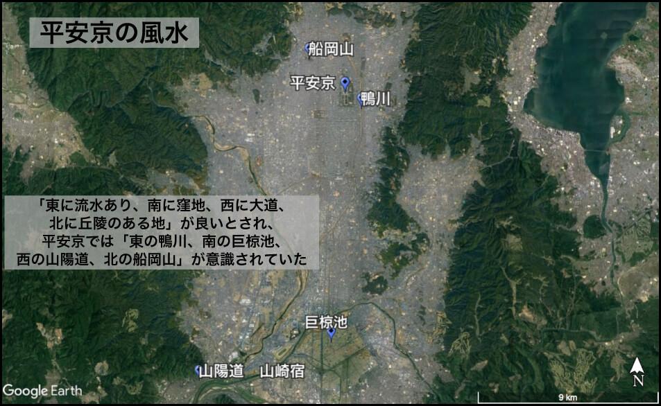 平安京の風水
