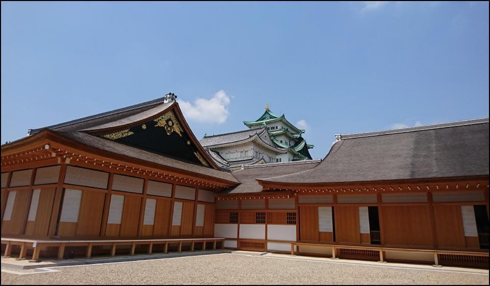 名古屋城天守と本丸御殿
