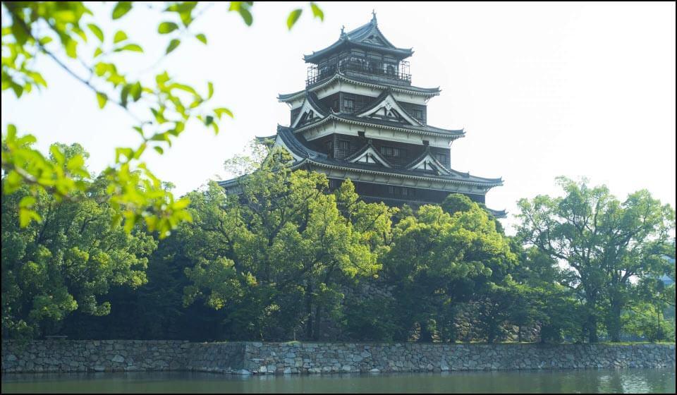 広島城の天守