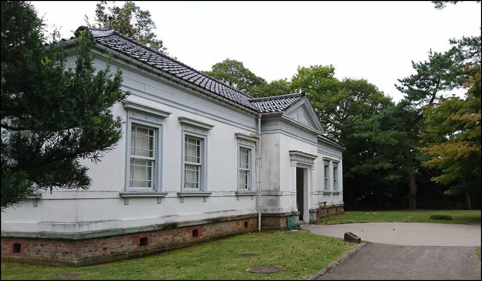 陸軍の司令部として使用されていた建物