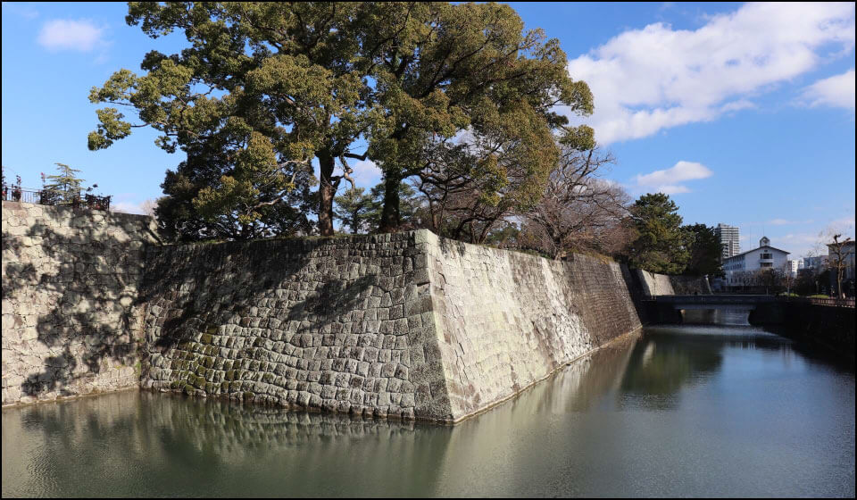 駿府城の堀