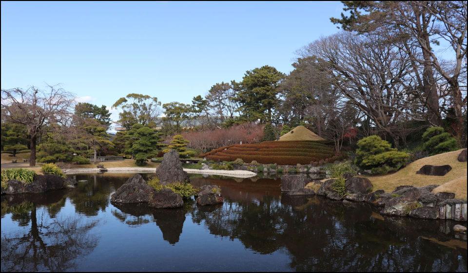 駿府城公園の紅葉山公園