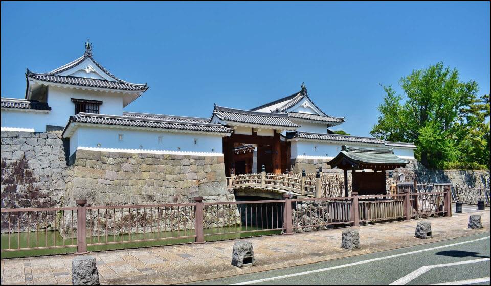 駿府城の東御門