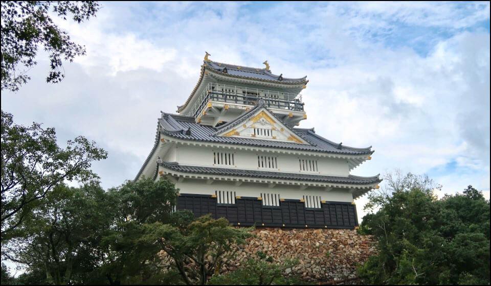 岐阜城の再建天守