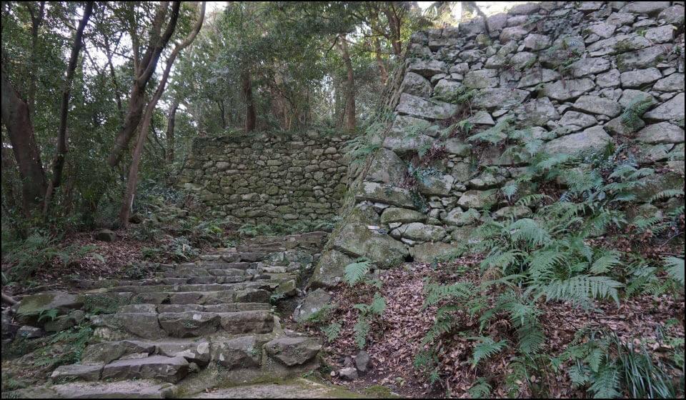宇和島城の石垣