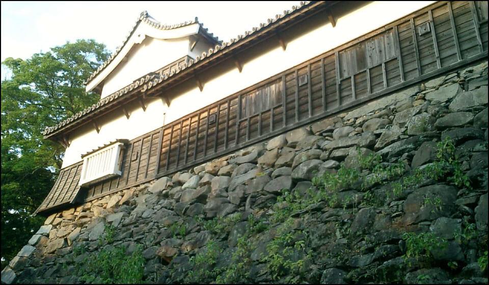 重要文化財の南二の丸多門櫓