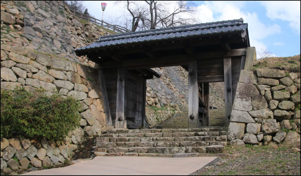 鳥取城の西坂下御門
