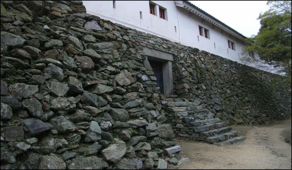 豊臣秀長時代の和歌山城の石垣