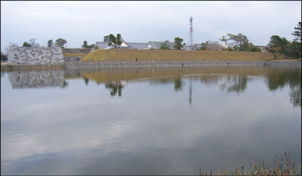 佐賀城の水堀