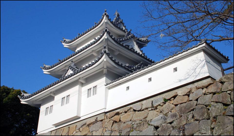 津城の模擬櫓