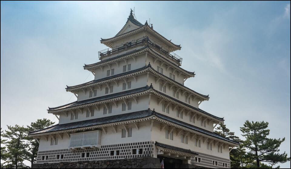 島原城の天守