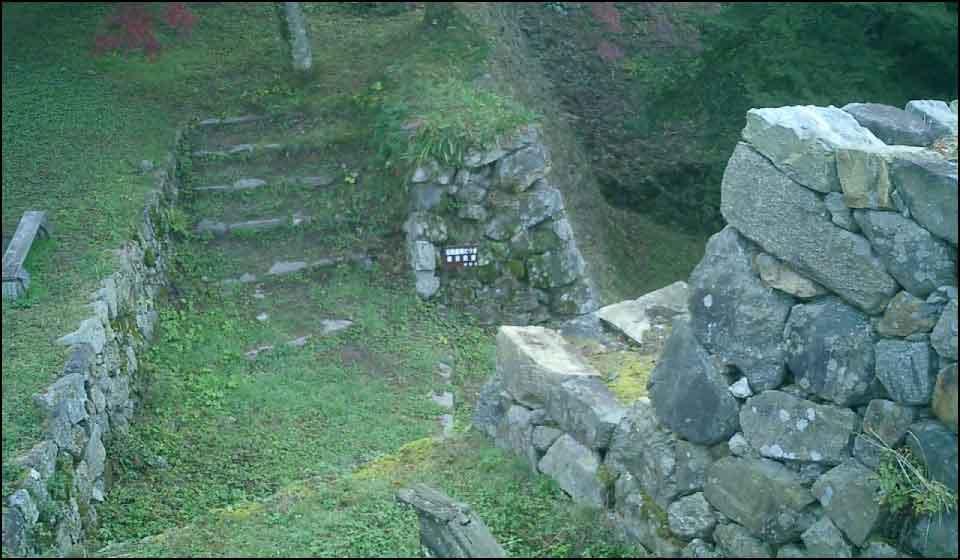 高取城の石垣