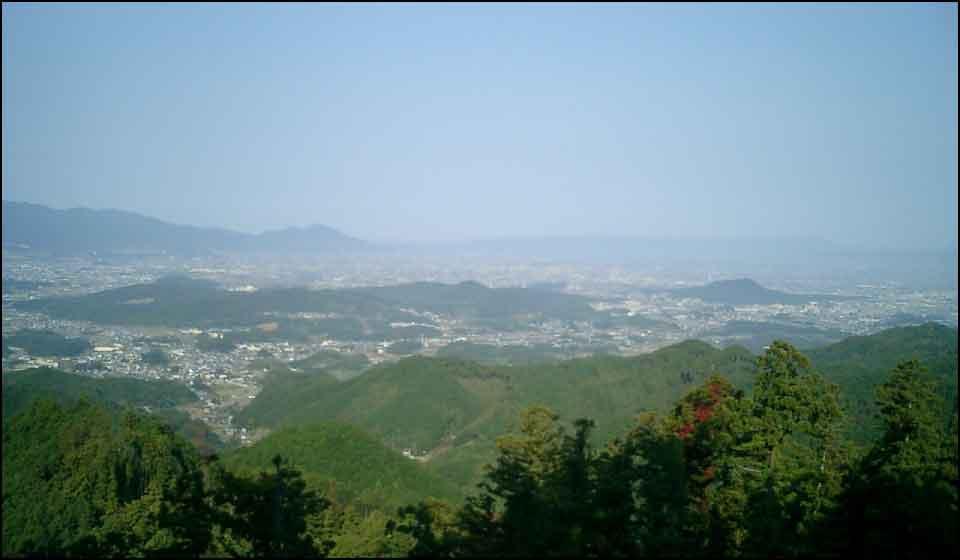 高取城からの眺望