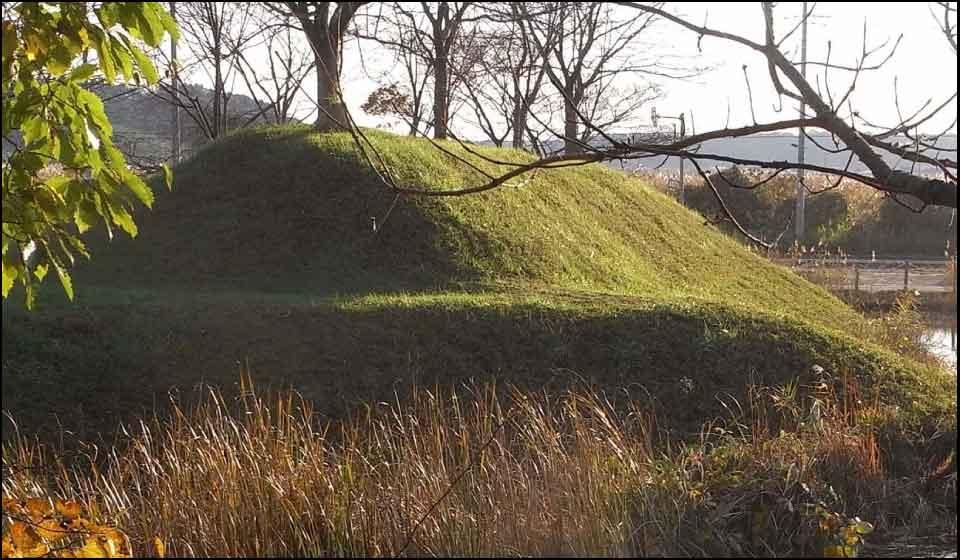 佐倉城の土塁