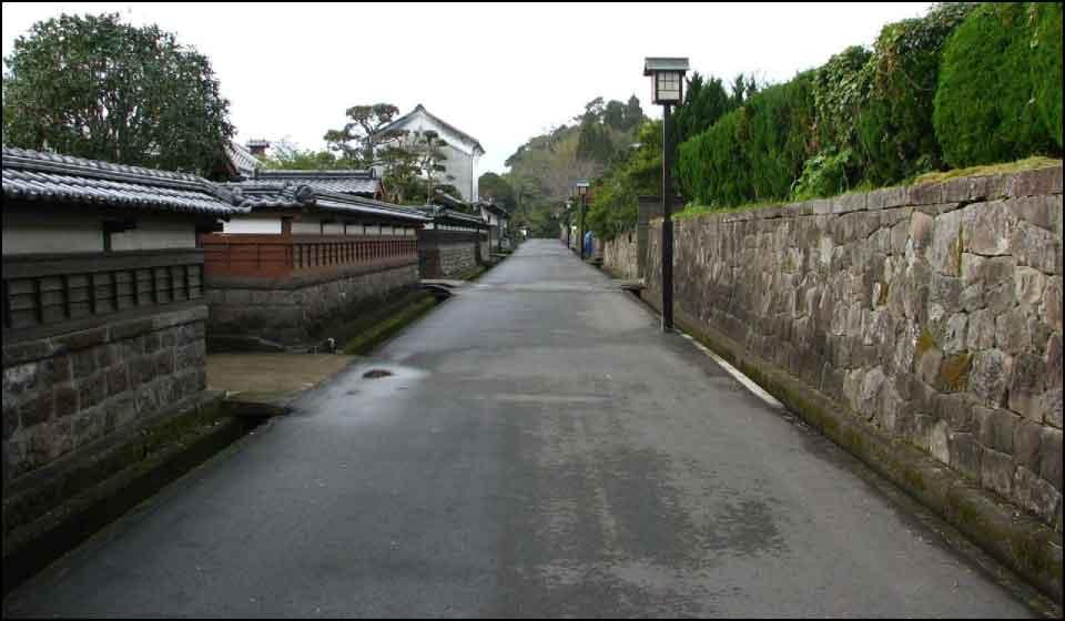 江戸時代の風景が残る武家屋敷群