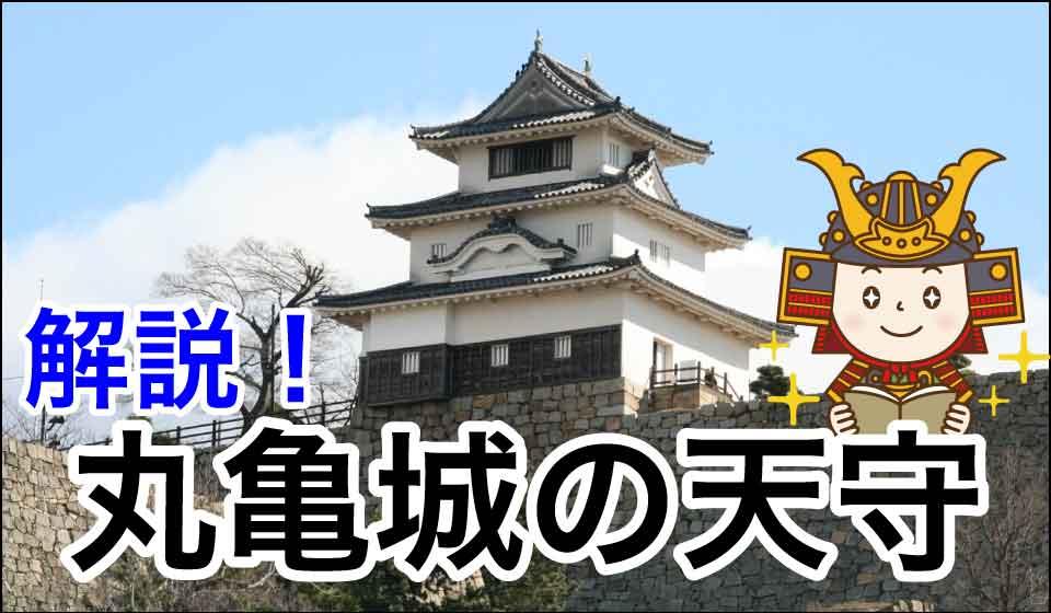 解説!丸亀城の天守