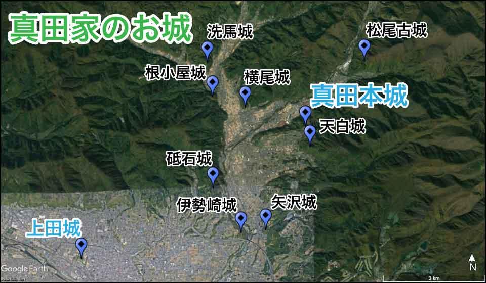 真田家のお城